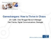 Gamechangers How To Thrive In Chaos