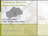 Taming The Wind with Engineered Tal...