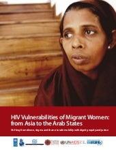 HIV Vulnerabilities of Migrant Wome...