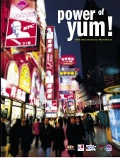 yum brands annual reports