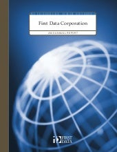 first data annual reports 2006