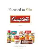 campbell soup annual reports 2008