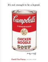 campbell soup annual reports 2001
