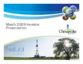 Chesapeake Latest_IR_Presentation