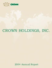 crown holdings 2004annualfinal