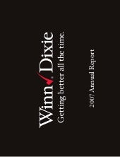 winn-dixie stores  2007_Annual_Report