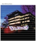 yahoo annual reports 2003