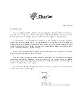 charter communications Proxy05