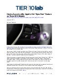 "Honda, Acura to offer Apple's Siri ""Eyes Free"" Feature on Three 2013 Models"