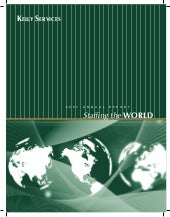 kelly annual reports 2007