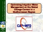 Optimizing Irrigation Water Managem...