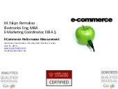 E-Commerce Performance Measurement ...