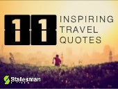 11 Inspiring Travel Quotes