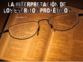 11 Interpretacion Escritos Profetic...