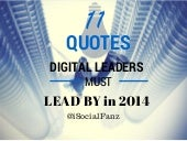 11 Quotes for Digital Leaders in 2014