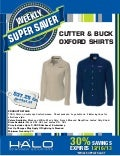Cutter & Buck Oxford Shirts 30% Off #uniform #shirtdeal #logoedshirt