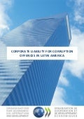 Corporate liability for corruption offences in Latin America