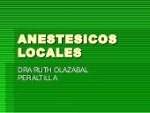 12. anestesia local