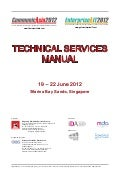 Technical Services Mannual_Communic Asia 2012