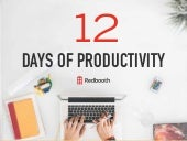12 Days of Productivity