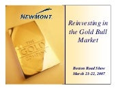 newmont mining Boston_Roadshow_03_2...