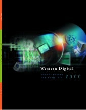 western digital  annual00