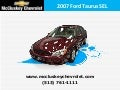 Used 2007 Ford Taurus SEL Sedan at Cincinnati and Hamilton, Ohio