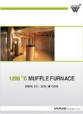 Vertical Muffle Furnace (1200 °C) by ACMAS Technologies Pvt Ltd.