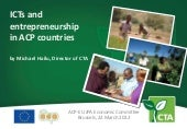 ICTs and entrepreneurship in ACP co...