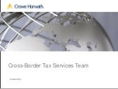 Crowe Horwath Italy Tax - Rome Cros...