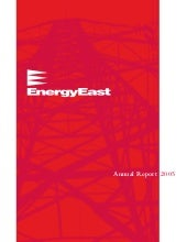 energy east 2005AnnualReport