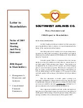 southwest airline proxy_stmt_05