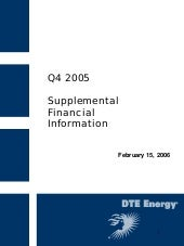 DTE_4Q05supplemental