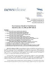 tenet healthcare _Rel_2008_Q4_FINAL_