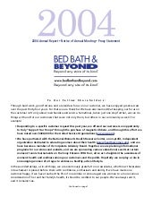 bed bath&beyond 2004ar