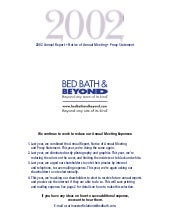 bed bath&beyond 2002ar