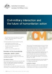 Working Paper 03/2012 Civil-militar...