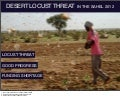 Desert Locust threat in the Sahel 2012 - Informal Donors' Meeting presentation (5 Oct 2012)