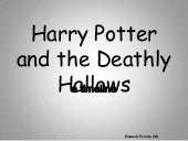 Deathly Hallows: Timeline
