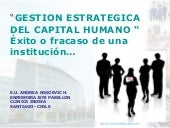 Gestion estrategica del capital hum...