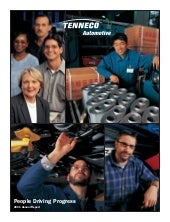 tenneco annual reports 2001