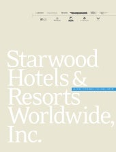 starwood hotels & resorts  annual r...
