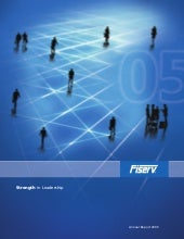 fiserv annual reports 2005