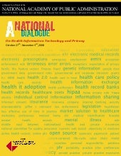 A National Dialogue on Health IT an...