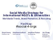 Social Media Strategy for Internati...