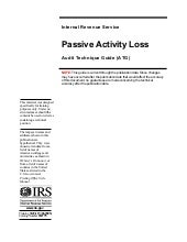 Passive Activity Loss Audit Techniq...