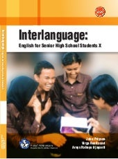 SMA-MA kelas10 interlanguage englis...