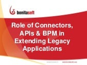 Extending Legacy Applications with BPM