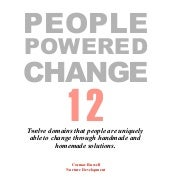12 domains of people powered change