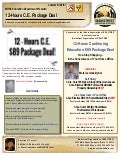 12 Hour Illinois Continuing Education Package. Order Today!